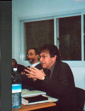 Alain Finkielkraut et Benny Lévy, 2 mars 2003