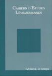 Couverture des Cahiers d'études lévinassiennes n°1