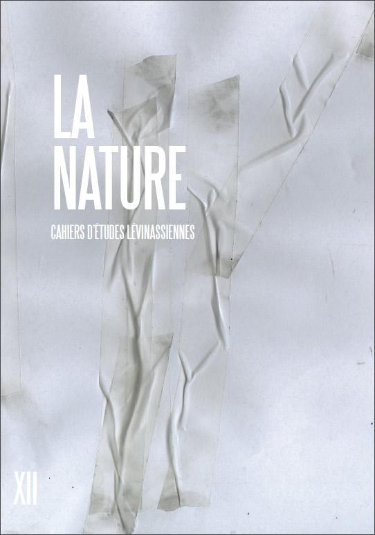 Couverture des Cahiers d'études lévinassiennes n°12, La nature