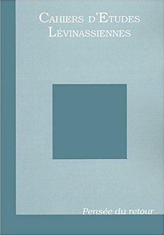 Couverture des Cahiers d'études lévinassiennes n°3