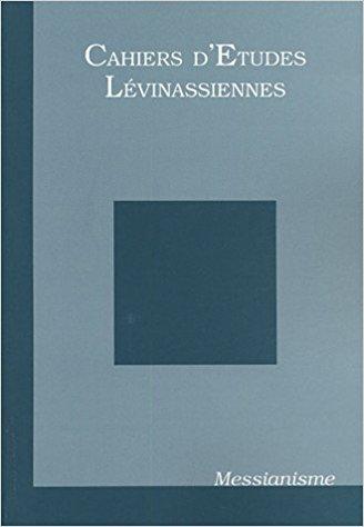 Couverture des Cahiers d'études lévinassiennes n°4