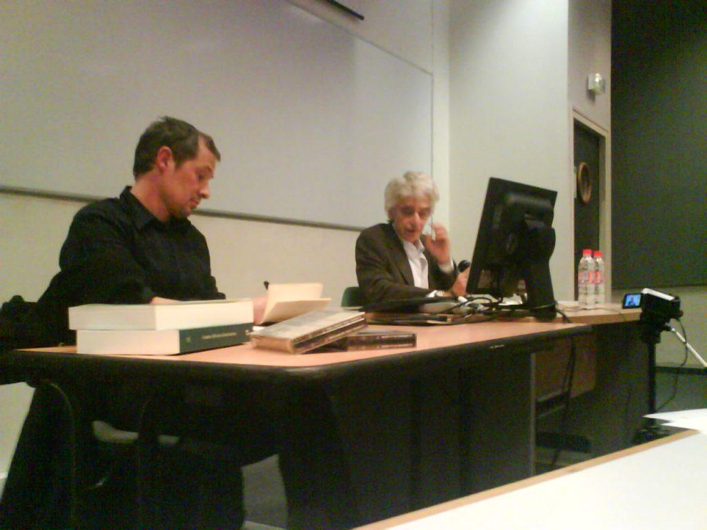 Luc Brisson et Gilles Hanus